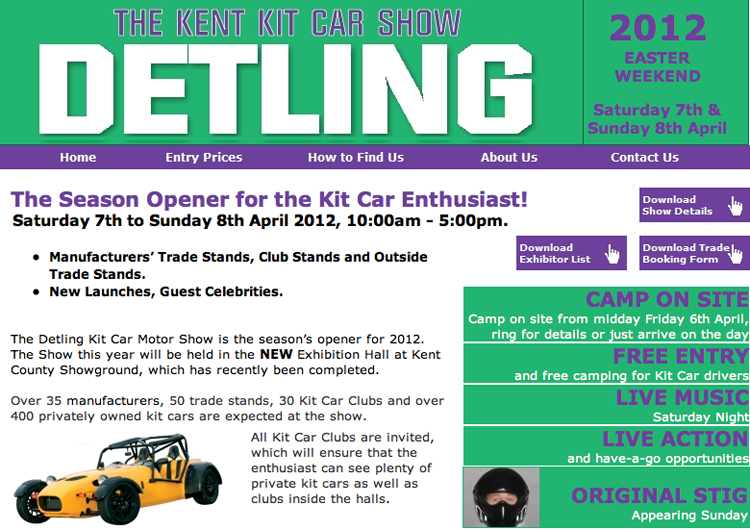 detling kit car show 2012