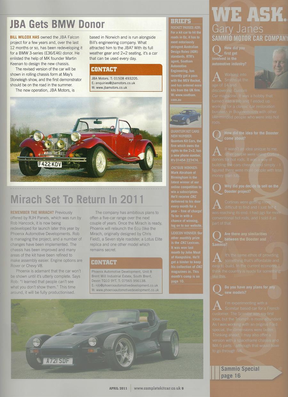 Jba Motors News